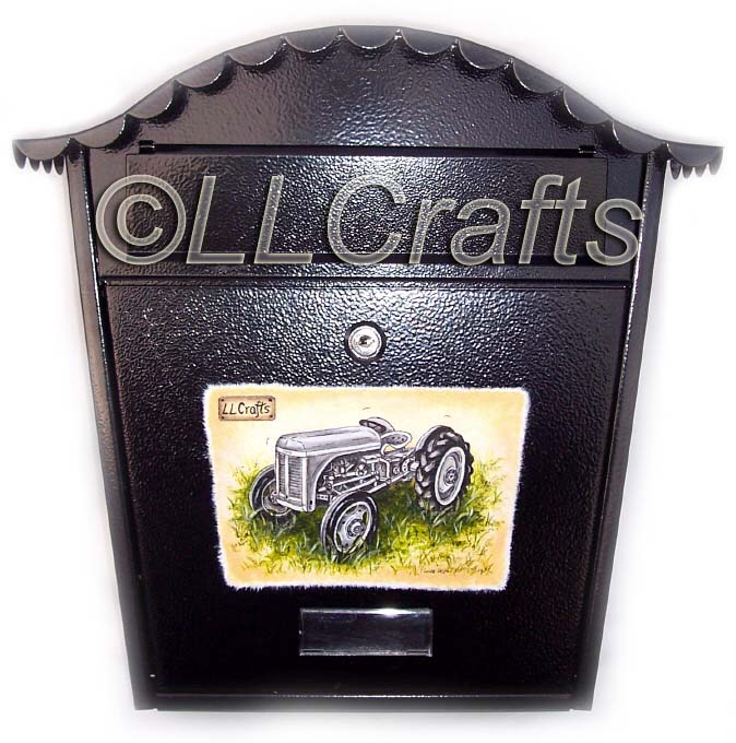 Gift Box Ballymena : Personalized postbox orders llcrafts ll crafts
